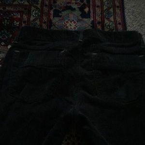 Gap 1969 Tornado Gray Corduroy Sexy Boot Jeans 28